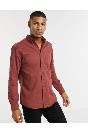 Only & Sons Overshirt with pocket in washed