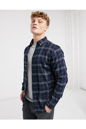 Selected Flannel shirt in check
