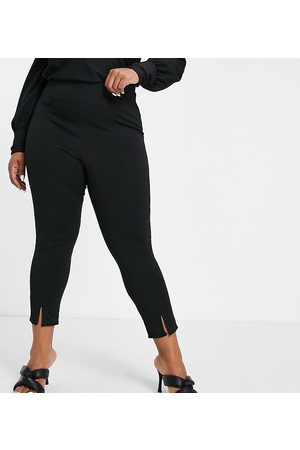 Yours Ponte tapered trousers in