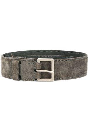 Alaïa Women Belts - Square buckle textured belt