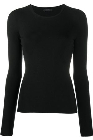 Joseph Long-sleeve crew neck jumper