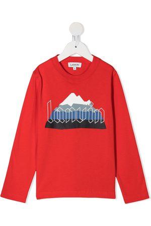 Lanvin Mountain logo T-shirt