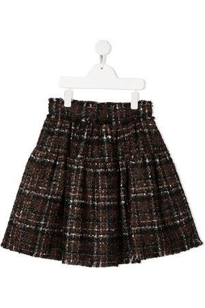 Dolce & Gabbana Check flared skirt