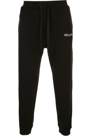 Delantic Logo embroidered trackpants