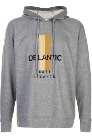 Delantic Logo print hoodie