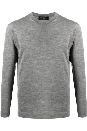 DELL'OGLIO Long-sleeve fitted jumper