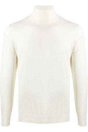 DELL'OGLIO Roll-neck fitted jumper