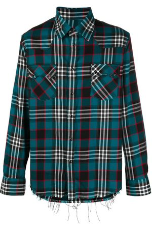 Family First Tartan long-sleeve shirt