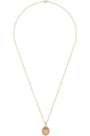 O THONGTHAI 14kt yellow Leo diamond necklace