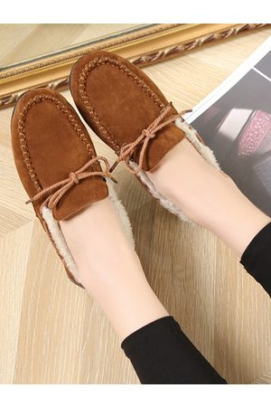 YOINS Casual Thick Furry Loafers