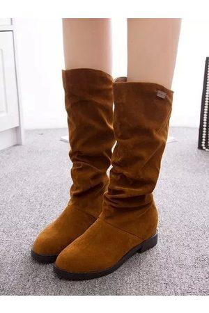 YOINS Casual Sheer Boots