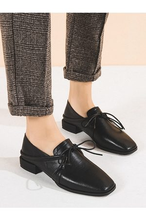 YOINS Casual Deep Mouth Almond Toe Loafers