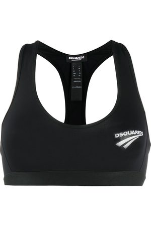 Dsquared2 Logo print sports bra