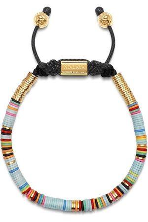 Nialaya Disc beaded bracelet
