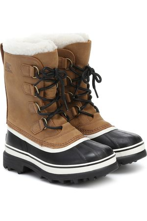 sorel Women Snow Boots - Caribou shearling and nubuck snow boots