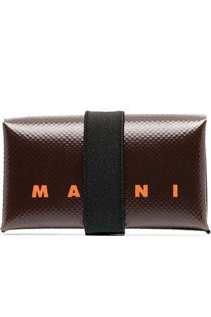 Marni Logo-print tri-fold wallet