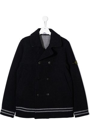 Stone Island Button-up wool coat