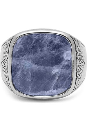 Nialaya Jewelry Dumortierite signet ring