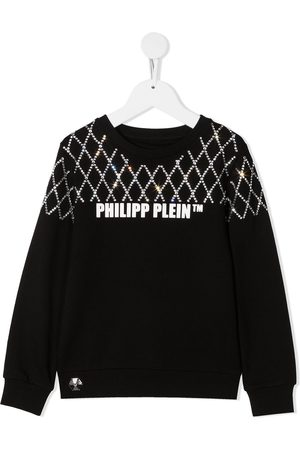Philipp Plein Rhinestone-embellished sweatshirt