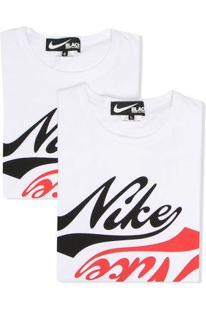 Comme des Garçons X Nike logo-print t-shirt
