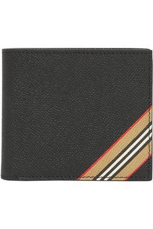 Burberry Men Wallets - Icon stripe bi-fold wallet