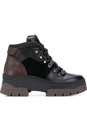 See by Chloé Women Outdoor Shoes - Contrast-panel hiking boots