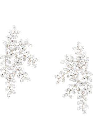 Jennifer Behr Crystal embellished earrings