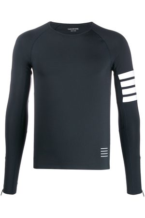 Thom Browne Lightweight Compression Tech 4-bar T-shirt