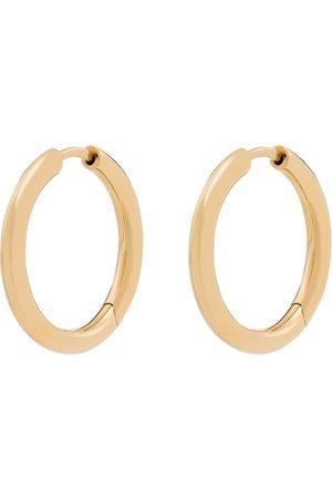 TOM WOOD 9K yellow Classic hoop earrings