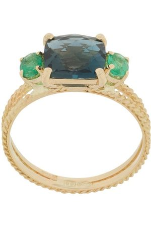 WOUTERS & HENDRIX 18kt yellow Charleston Chapters ring