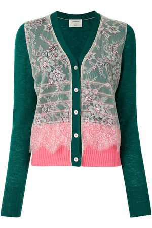 Onefifteen Floral embroidery knit cardigan