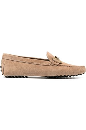 Tod's T-buckle driving loafers