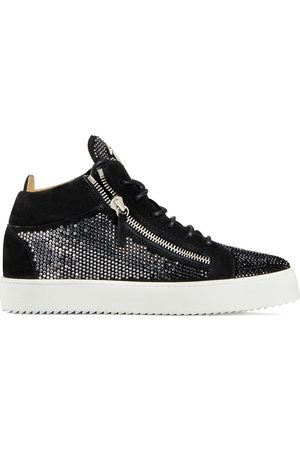 Giuseppe Zanotti Kriss crystal-embellished high-top sneakers