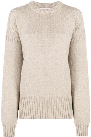 PRINGLE OF SCOTLAND Guernsey stitch cashmere jumper