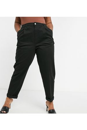 ASOS Women Chinos - ASOS DESIGN Curve hourglass chino trousers in