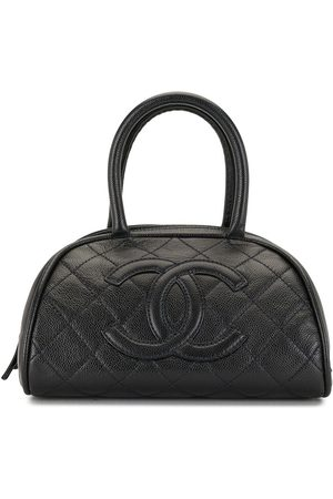 CHANEL 2006 CC diamond-quilted tote bag