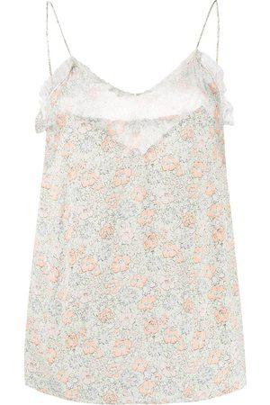 Gucci Floral-print silk cami top