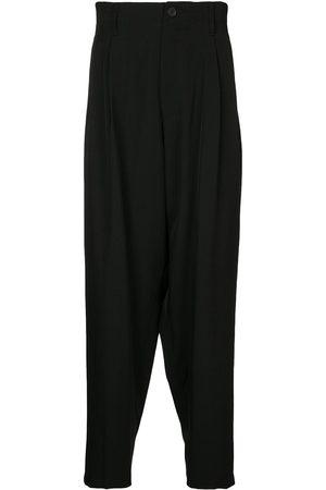 YOHJI YAMAMOTO Pleated wool trousers