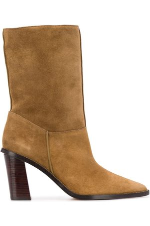Kenzo Shearling pointed-toe boots