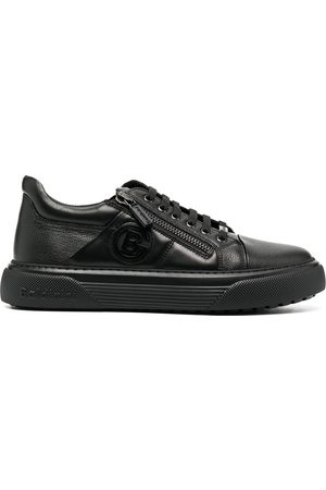BALDININI Low-top leather trainers