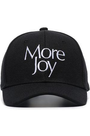 MORE JOY Logo-embroidered baseball cap