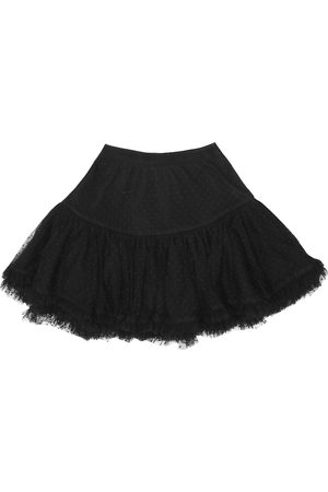 BONPOINT Polka-dot tulle skirt