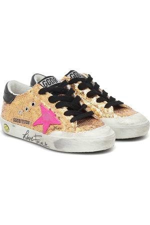 Golden Goose Superstar embellished sneakers