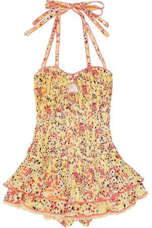 POUPETTE ST BARTH Yoana smocked dress