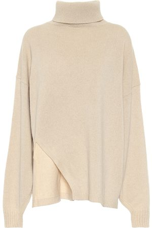 tibi Cashmere and wool cape sweater