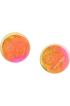 CHANEL 1997 CC motif clip-on earrings