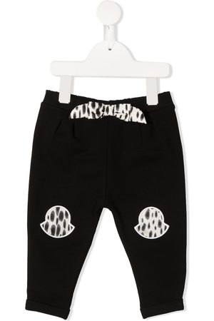 Moncler Embroidered-logo track pants