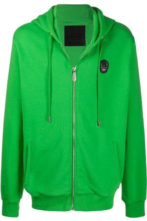 Philipp Plein Skull zipped hoodie