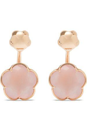 Pasquale Bruni 18kt rose gold quartz Bon Ton earrings