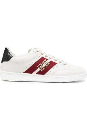 Bally Buckle-stripe low-top sneakers